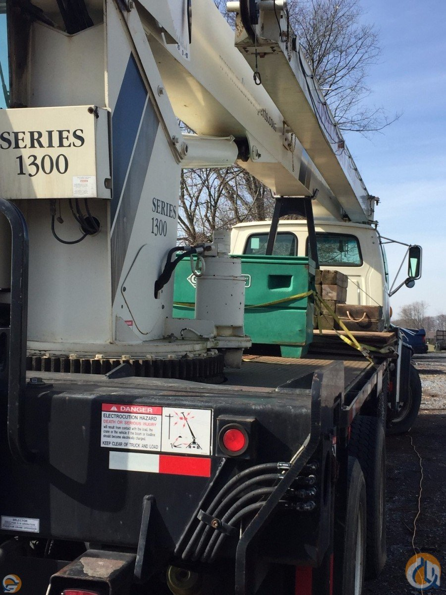 2001 National 1300 Mounted on Sterling OSHA CERTIFIED  INSPECTED Crane for Sale on CraneNetwork.com