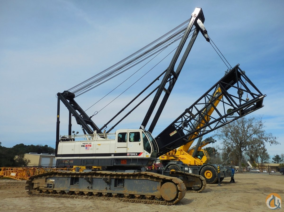 2011 TEREX HC-275 Crane for Sale or Rent in Baytown Texas on CraneNetworkcom