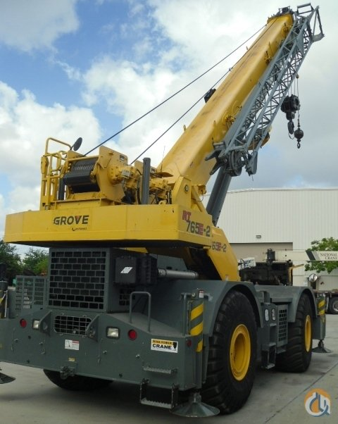 2012 GROVE RT765E2 Crane for Sale in Pompano Beach Florida on CraneNetwork.com
