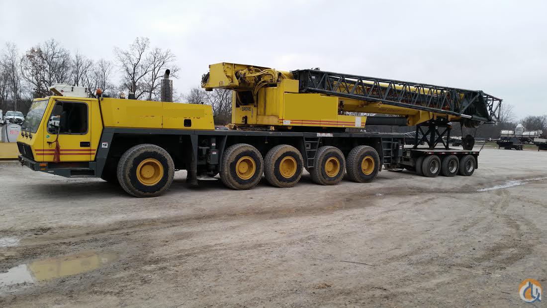Mercedes Of Walnut Creek >> Sold GMK 5240, 240 TON ALL TERRAIN CRANE Crane for on ...