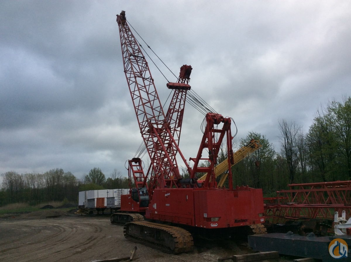 2005 Manitowoc 10000 Crane for Sale in Cleveland Ohio on CraneNetwork.com