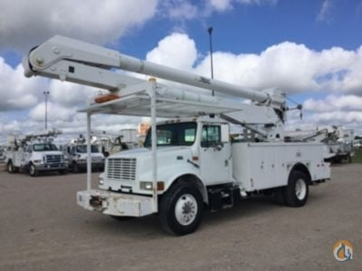 1999 Altec 4700 Crane for Sale in Waxahachie Texas on CraneNetworkcom