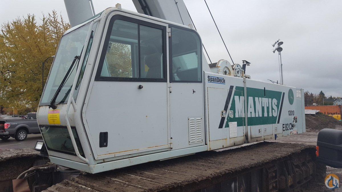 2008 Mantis 12010 For Sale or Rent Crane for Sale or Rent in New York New York on CraneNetworkcom