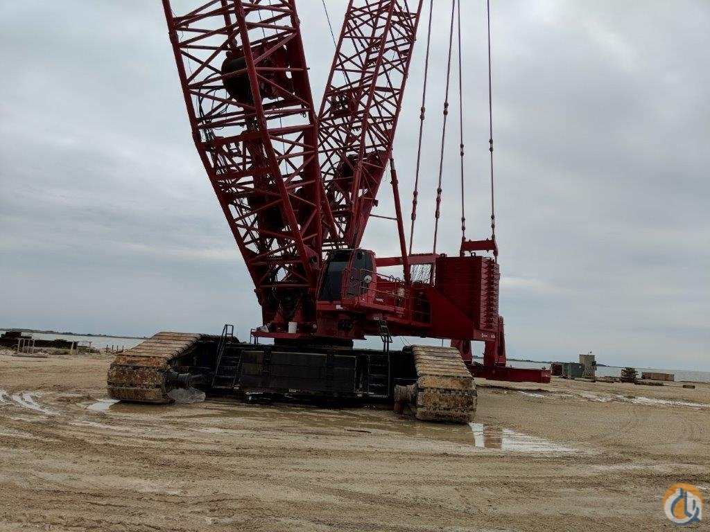 2014 Manitowoc 18000 Crawler crane Crane for Sale in Houma Louisiana on CraneNetwork.com