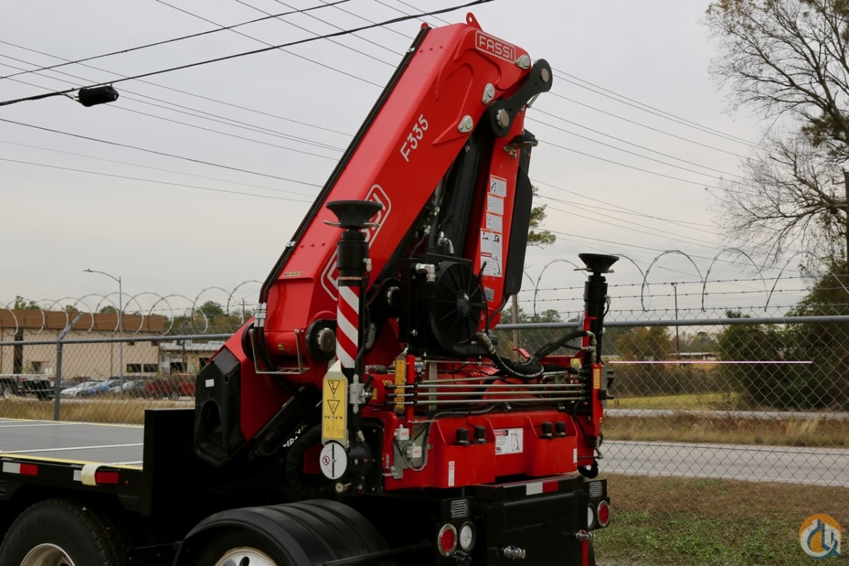 New 2018 Fassi F335A.2.24 e-dynamic knuckle boom crane unmounted Crane for Sale in Houston Texas on CraneNetwork.com