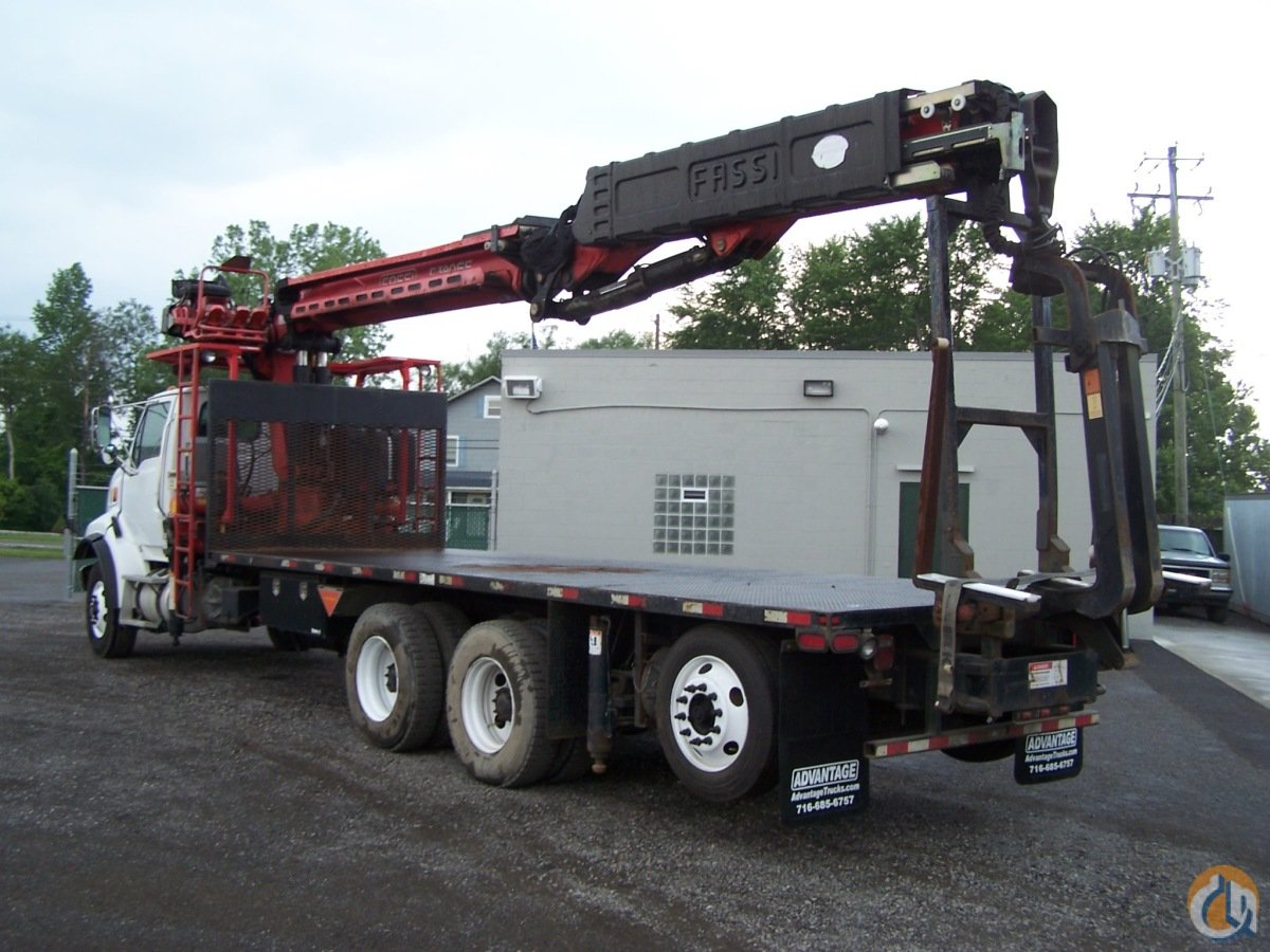 2005 Sterling LT9500  with the Fassi F390SE Crane for Sale in Lancaster New York on CraneNetwork.com