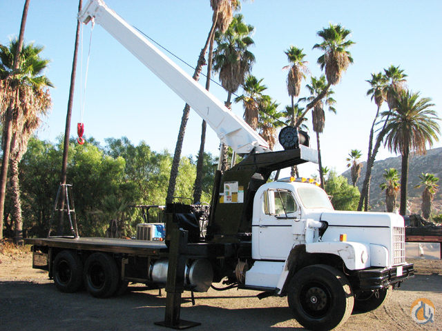 Sold 1967 Pitman HL 12-68 Crane for on CraneNetwork com