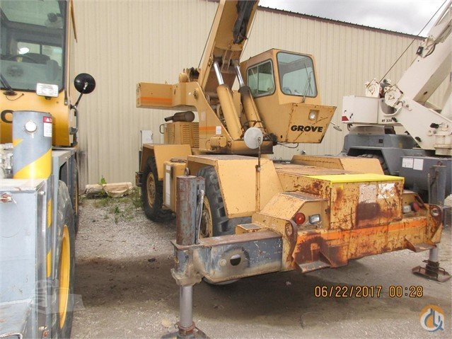 Grove RT518 Crane for Sale in Tulsa Oklahoma on CraneNetwork.com