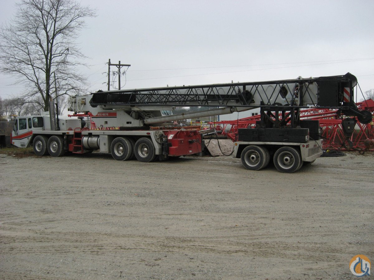 1997 Link-Belt HTC-8670 Crane for Sale in Lebanon Indiana on CraneNetwork.com