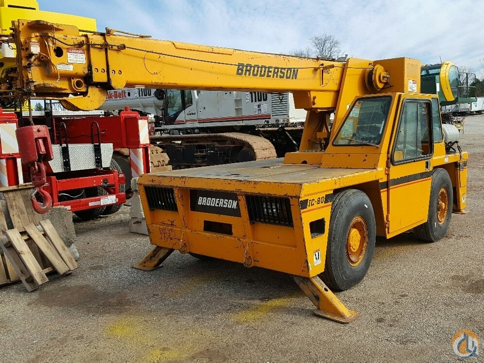 Sold Broderson IC80-3F Crane for  in Cleveland Ohio on CraneNetwork.com