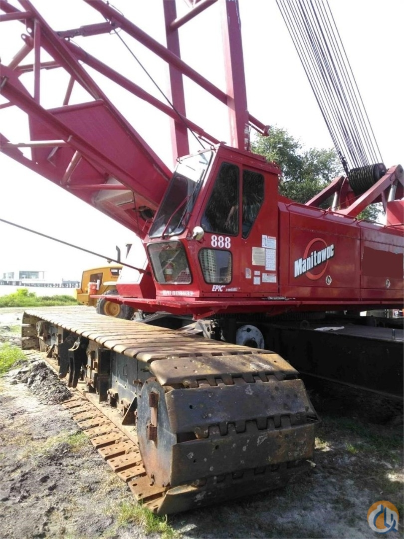 1998 MANITOWOC 888 S2 Crane for Sale or Rent in Cleveland Ohio on CraneNetwork.com