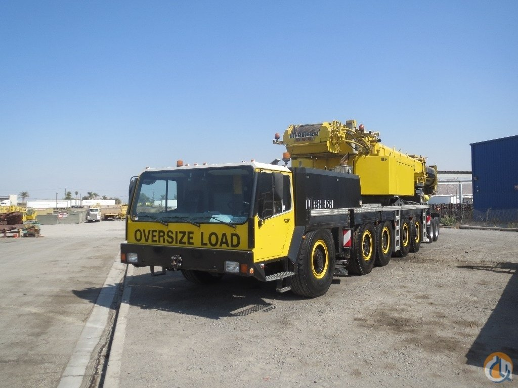 1998 Liebherr LTM1160-2 All Terrain Crane for Sale on CraneNetworkcom