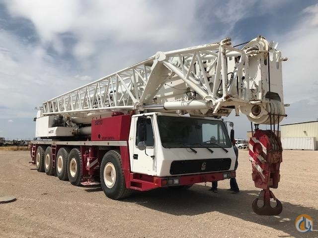 1999 Grove GMK5210 210 Ton All Terrain Crane CranesList ID 363 Crane for Sale on CraneNetwork.com