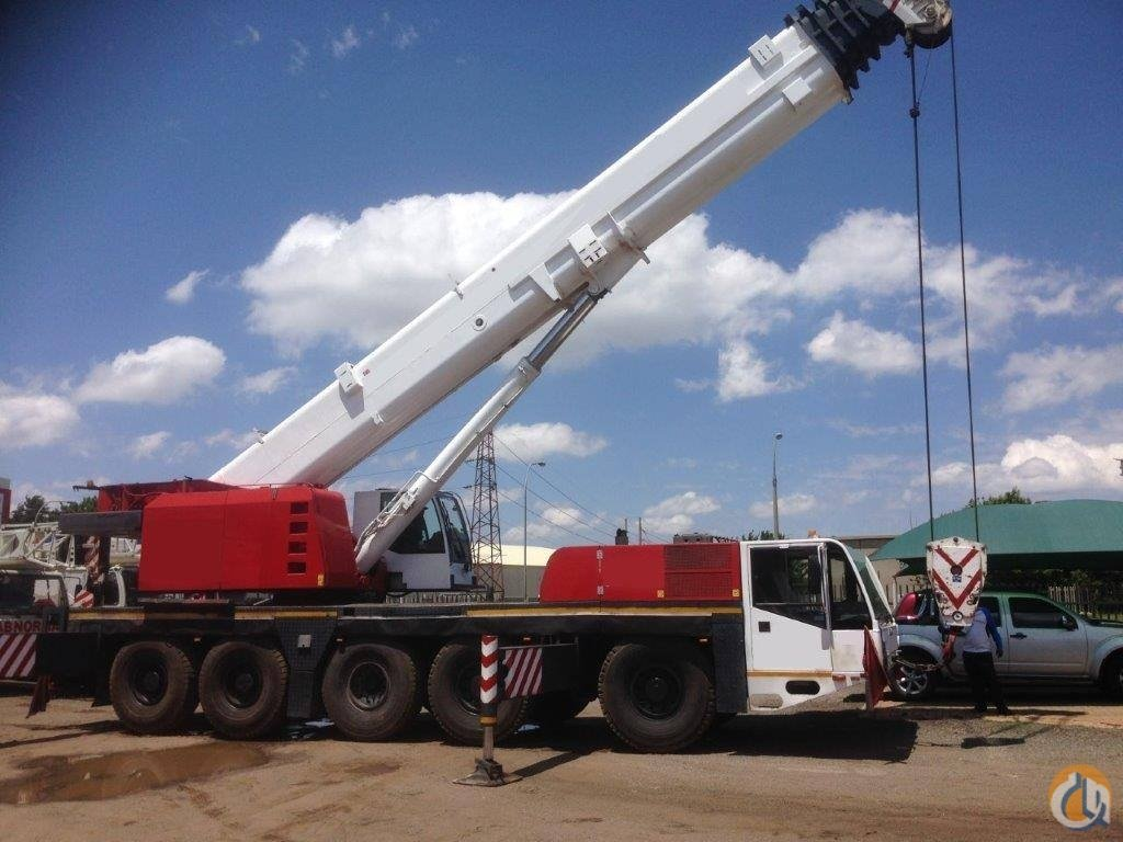 Sold 1999 DEMAG AC120 ALL TERRAIN CRANE 120TON PRICE USD 269000 Crane for  on CraneNetwork.com