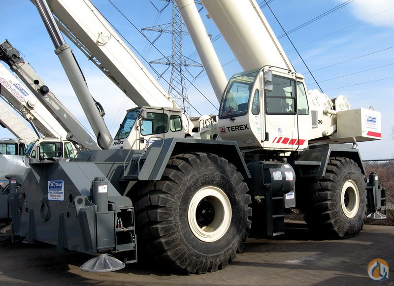 120 Ton Rough Terrain - Two Available Crane for Sale or Rent in Savage Minnesota on CraneNetwork.com