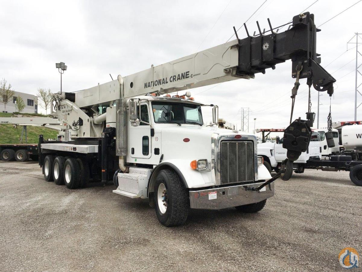 2014 National NBT55-128 Mounted on a 2013 Peterbilt 367 Crane for Sale in Kansas City Missouri on CraneNetwork.com