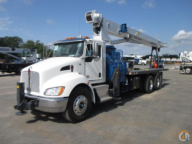 Used Manitex 30102C mounted to 2018 Kenworth T370 chassis Crane for Sale or Rent in Midland Texas on CraneNetwork.com