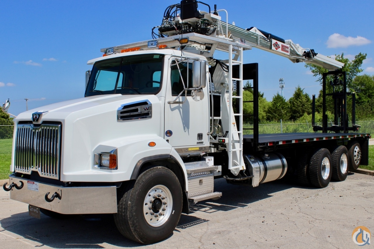 Sold 2014 IMT 16000 Series III wallboard crane with top seat and RRC mounted to 2018 Western Star 4700SB chassis Crane for  in Olathe Kansas on CraneNetwork.com