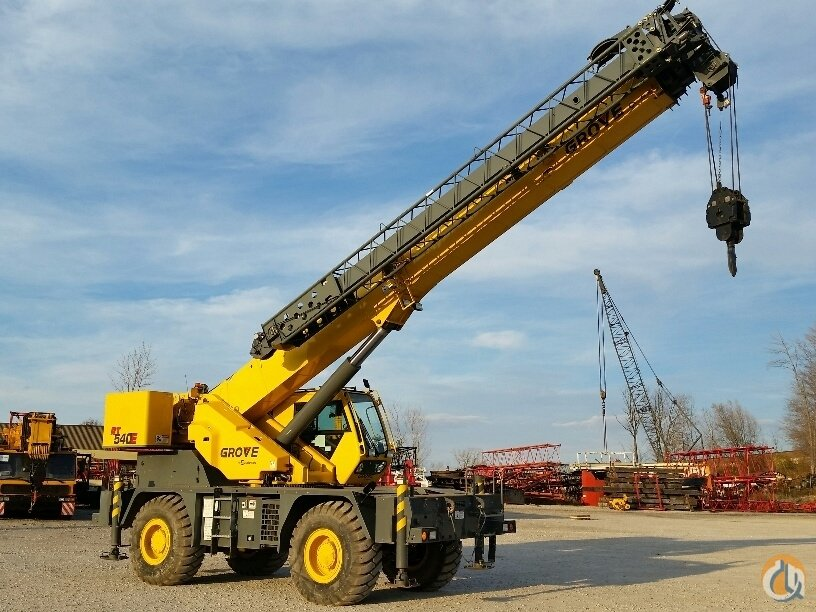 2012 Grove RT540 Crane for Sale in Solon Ohio on CraneNetwork.com