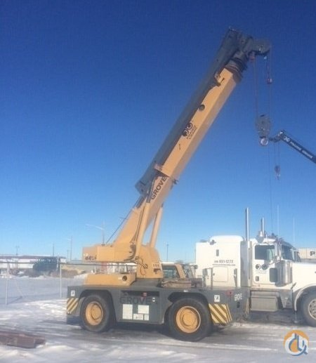 Sold 2000 Grove YB4415 Carry Deck Crane for  in Saskatoon Saskatchewan on CraneNetwork.com