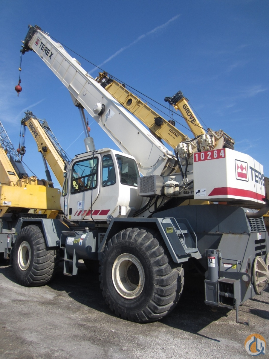 Terex RT555-1 for sale Crane for Sale in Chicago Illinois on CraneNetwork.com
