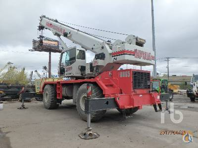 Sold 2008 LINK-BELT RTC-8065 II Crane for  in Chicago Illinois on CraneNetworkcom