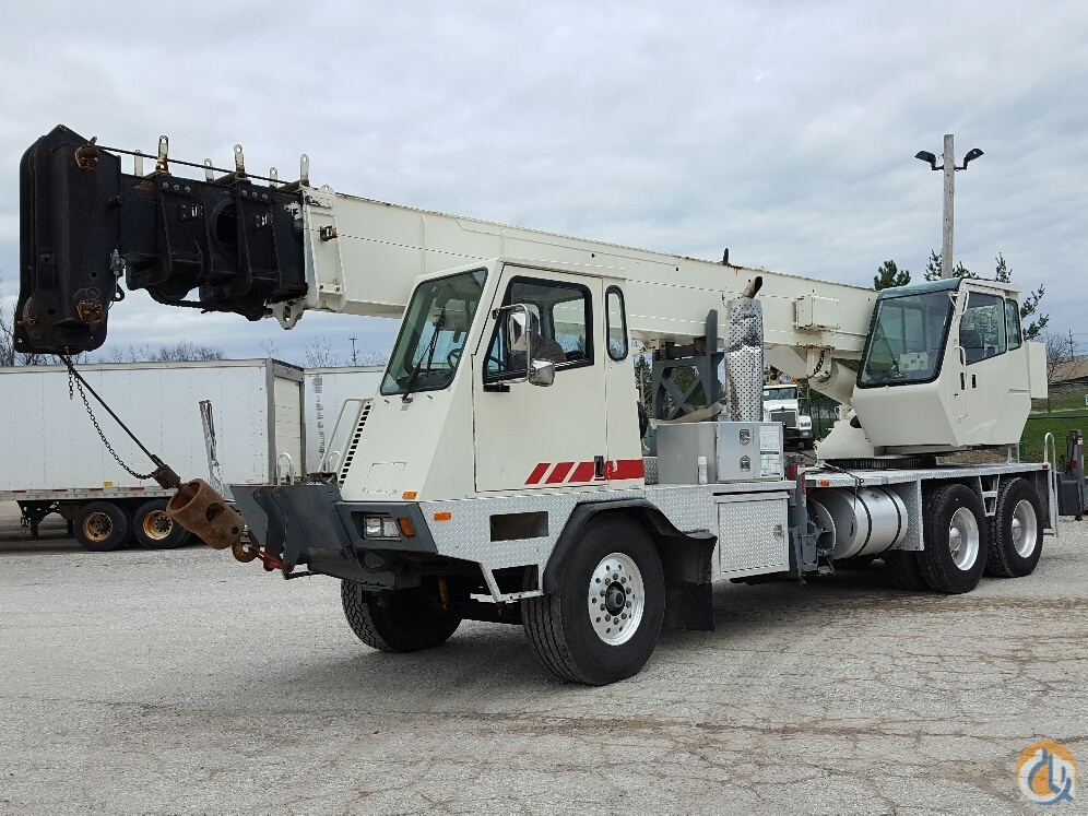 1999 Terex T335 Crane for Sale in Cleveland Ohio on CraneNetworkcom