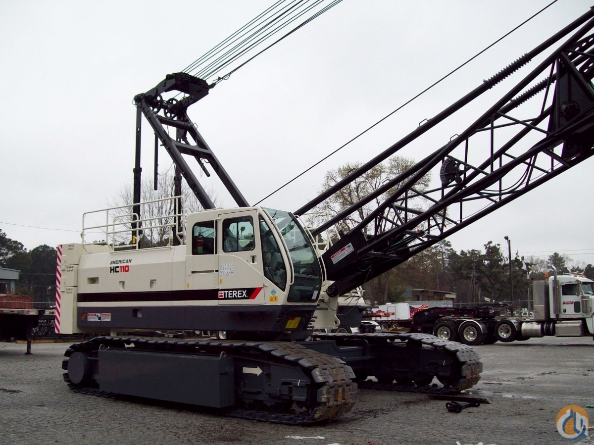 Terex HC110 Crawler Lattice Boom Cranes Crane for Sale NEW 2016 TEREX HC-110 in Savannah  Georgia  United States 208985 CraneNetwork