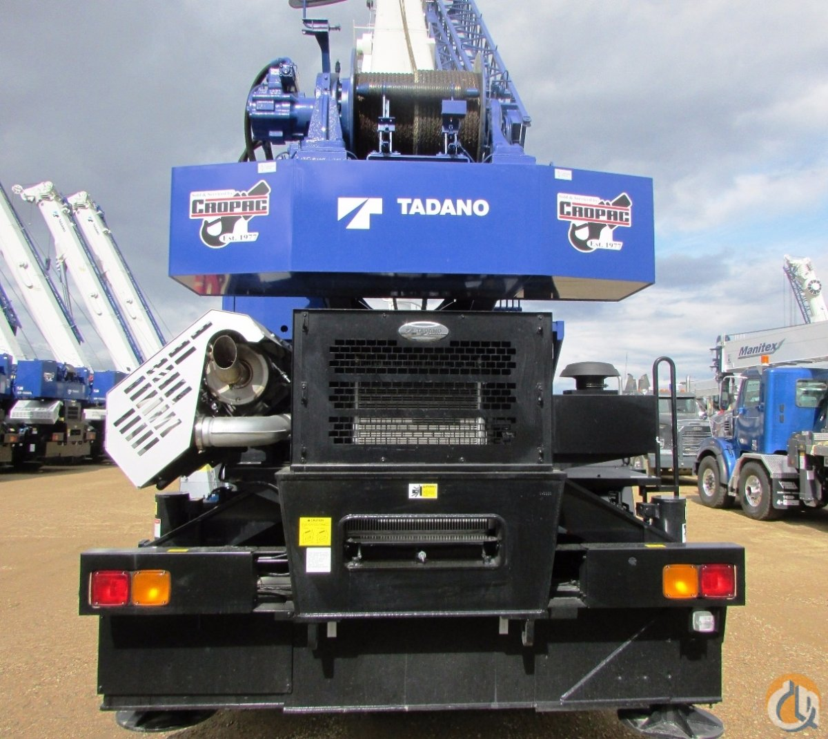 Tadano GR-550XL-2 Rough Terrain Cranes Crane for Sale 2015 TADANO GR550XL in Nisku  Alberta  Canada 218120 CraneNetwork