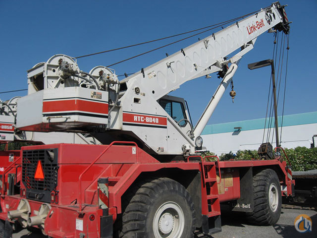 Link Belt RTC8040II For Sale Crane for Sale in Valley Springs California on CraneNetwork.com