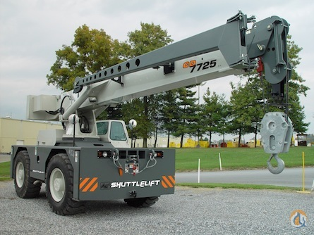 2017 Shuttlelift CD7725 Crane for Sale on CraneNetworkcom