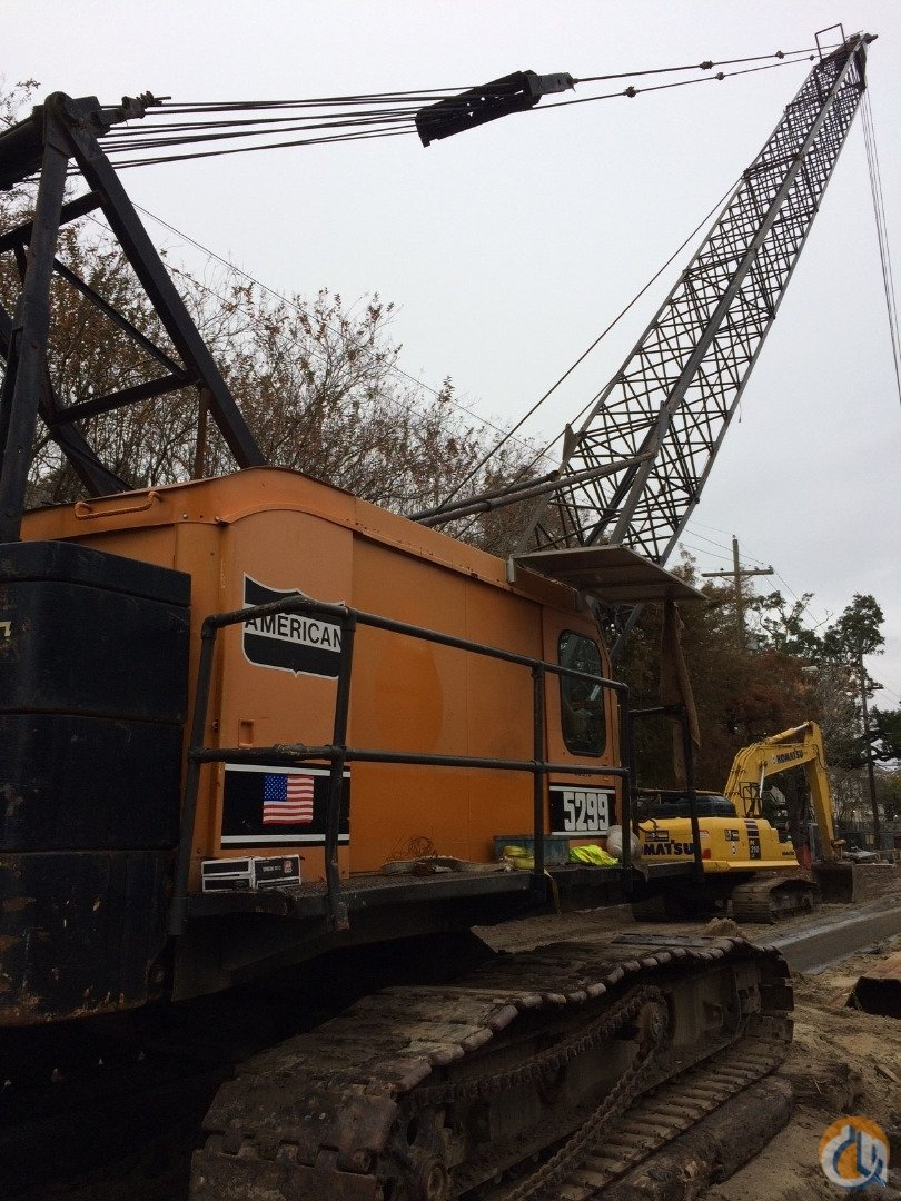 1980 American 5299 Crawler Crane with 120 of Boom. Package Option Available with Vulcan No.1 Air Hammer. Crane for Sale in Mandeville Louisiana on CraneNetwork.com