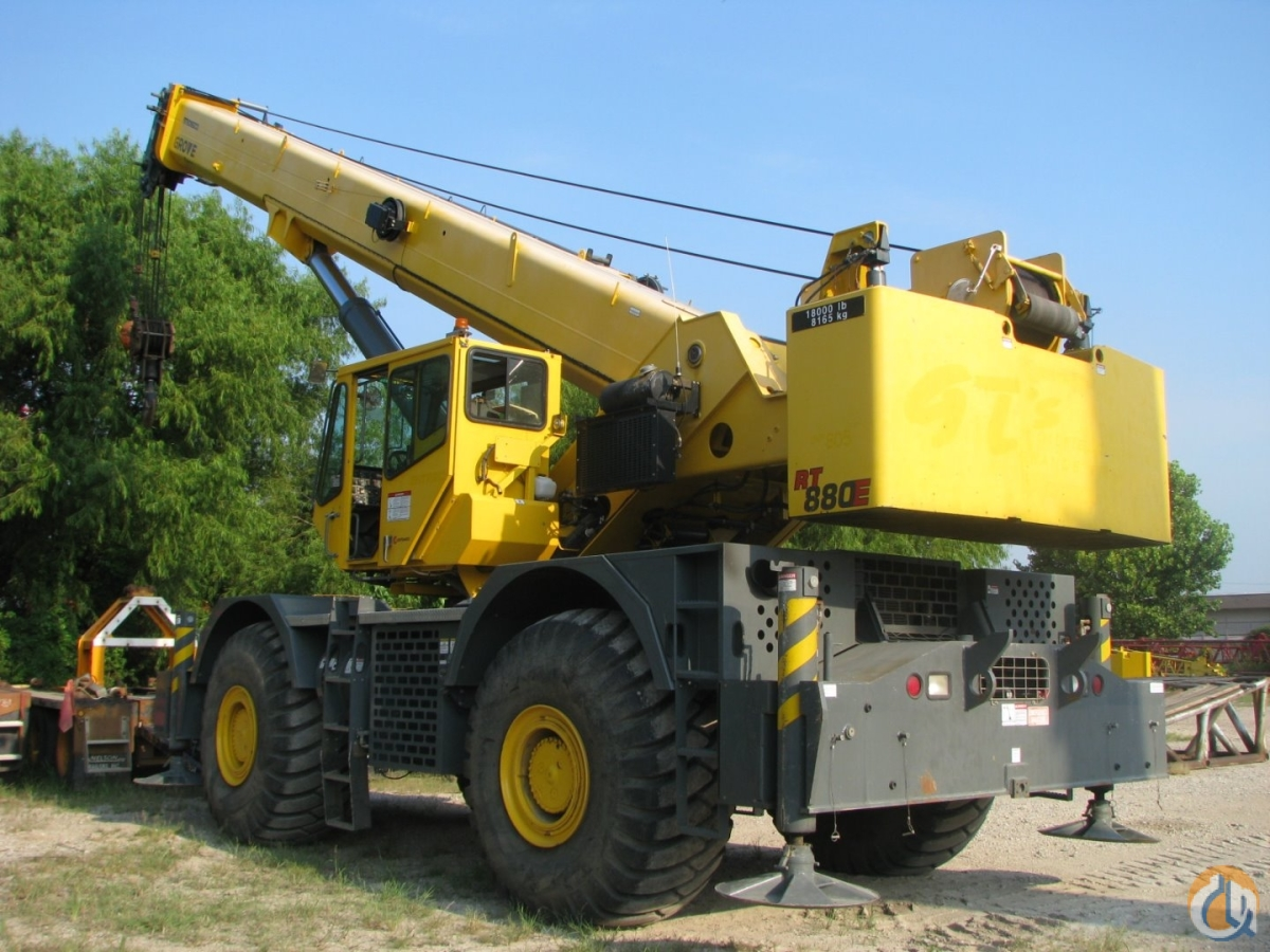 2010 GROVE RT880E Crane for Sale in Lewisville Texas on CraneNetwork.com