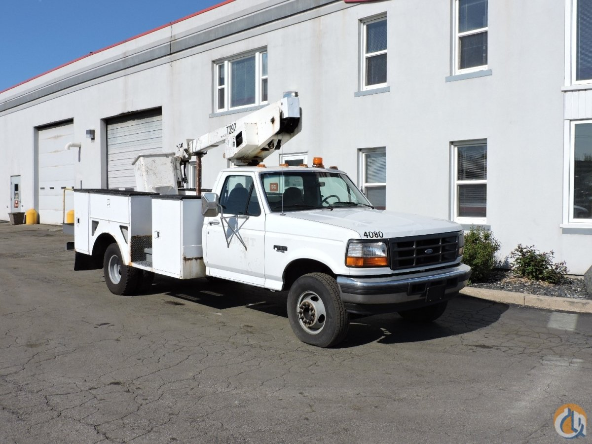 Telelect T292 bucket truck - 1997 Ford F450 Crane for Sale in Lyons Illinois on CraneNetworkcom