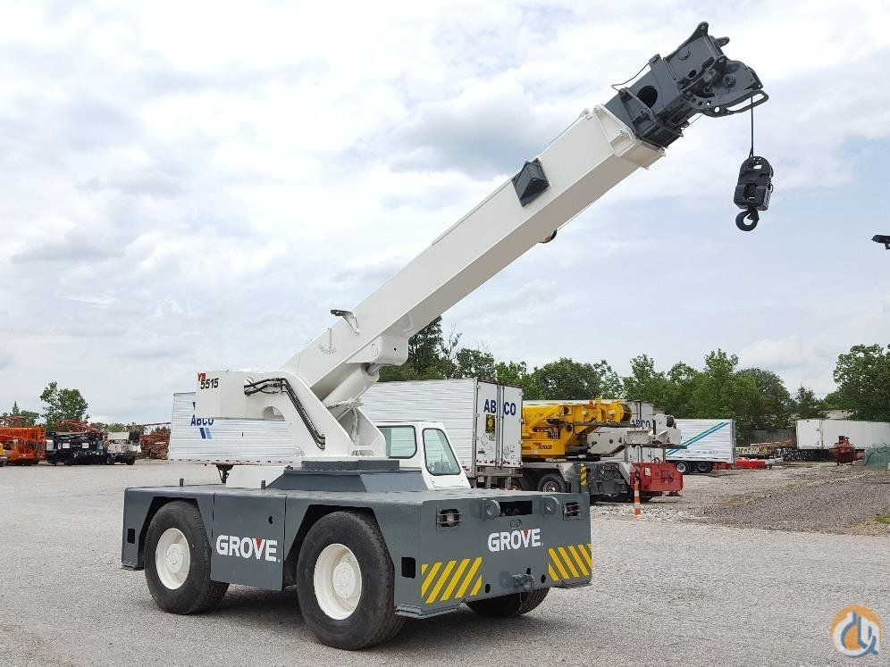 2005 Grove YB5515 Crane for Sale in Solon Ohio on CraneNetwork.com
