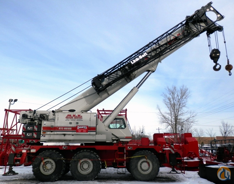 Link-Belt RTC-80100 II For Sale Crane for Sale in Hammond Indiana on CraneNetwork.com