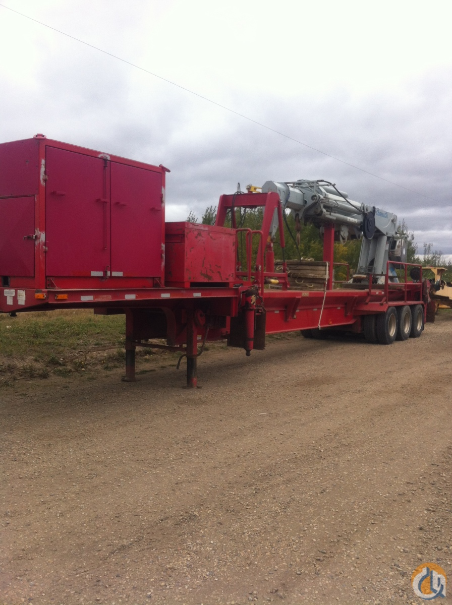 Jib Cranes Edmonton : Sold cormach e short notice auction crane for in