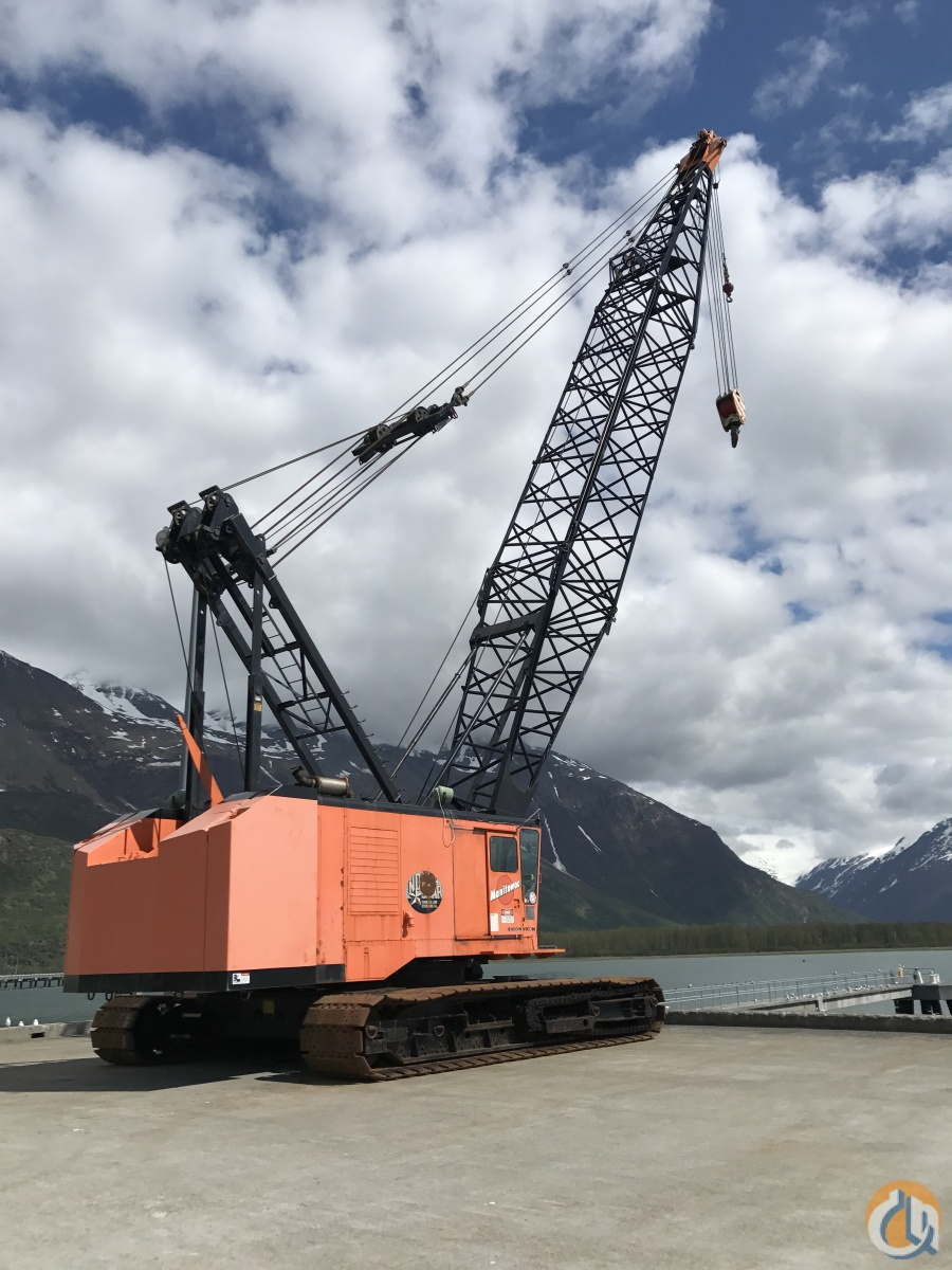 1993 Manitowoc 4100 SII Crane for Sale in Anchorage Alaska on CraneNetwork.com