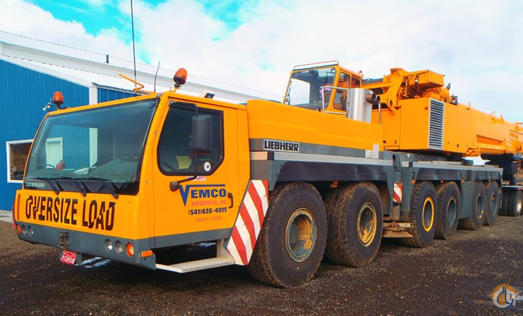 Sold Liebherr LTM 1300-6 1 with Super Lift Crane for on