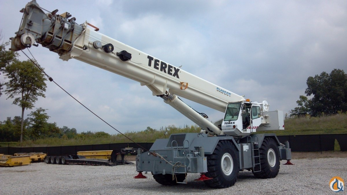 Terex RT1100 ROUGH TERRAIN CRANE Crane for Sale in Owensboro Kentucky on CraneNetwork.com