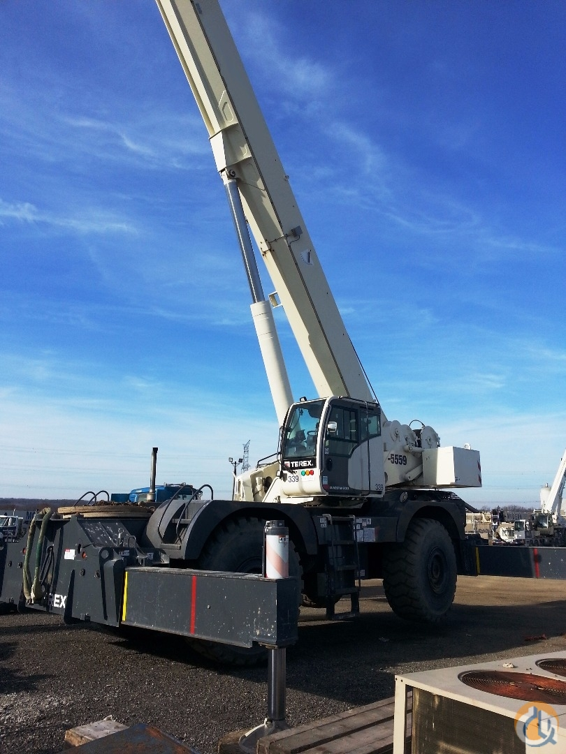 2014 TEREX QUADSTAR 1100 Crane for Sale in Oakville Ontario on CraneNetworkcom