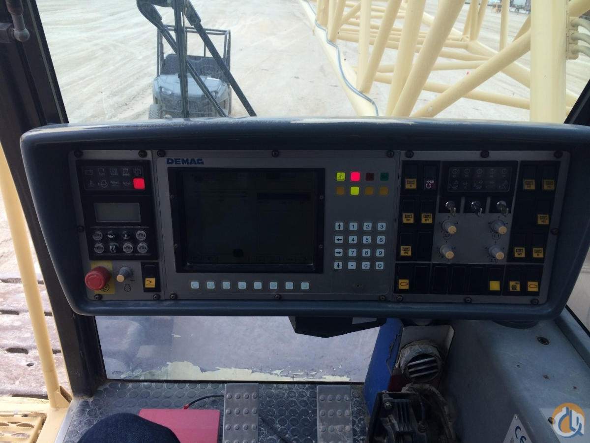 2001 Demag CC2500 Crane for Sale in Ingleside Texas on CraneNetwork.com