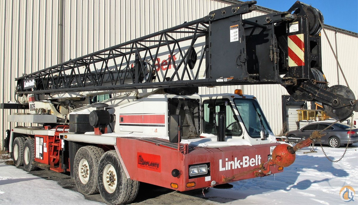 Sold 2000 LINK-BELT HTC-8675 Crane for  in Cornwall Ontario on CraneNetwork.com