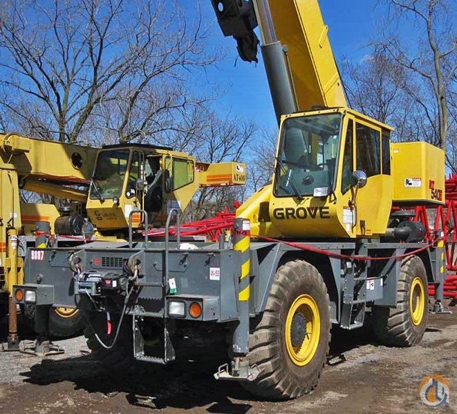 2007 Grove RT540E For Sale Crane for Sale in Pittsburgh Pennsylvania on CraneNetwork.com