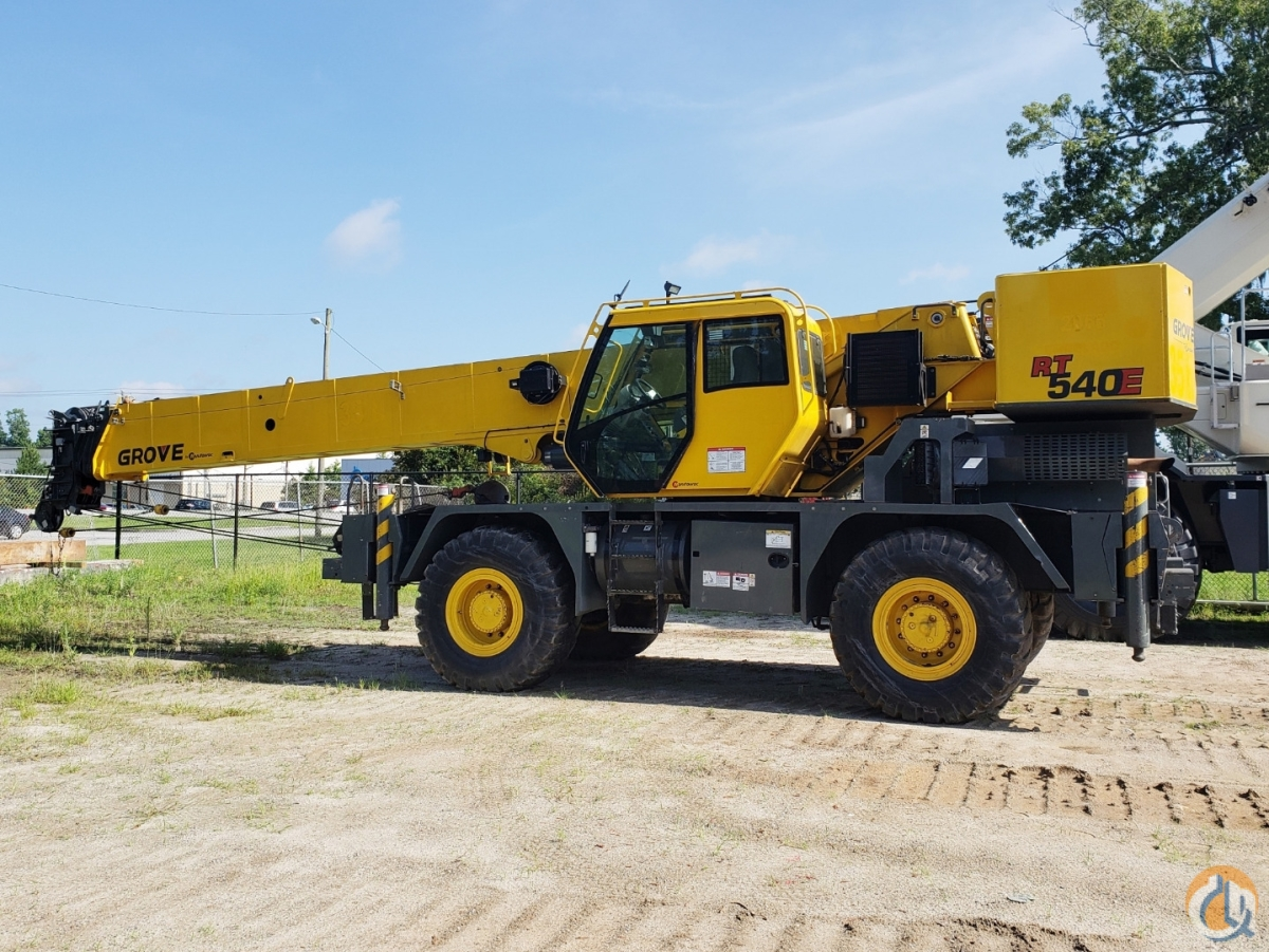 2013 GROVE RT-540E Crane for Sale or Rent in Savannah Georgia on CraneNetwork.com
