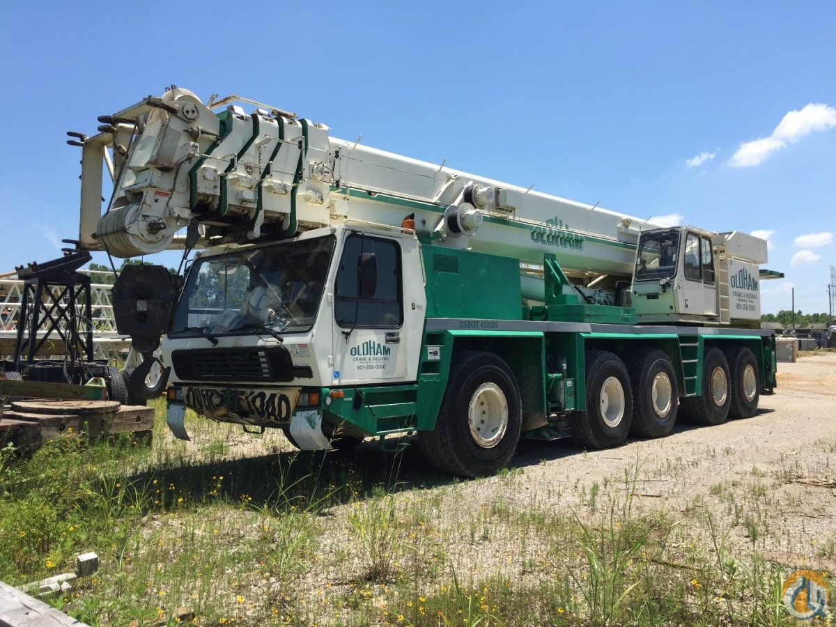 Sold Owner retiring 175-ton Grove for sale. Email at  cranes.riggingoldhamcrane.net Crane for  in Memphis Tennessee on CraneNetwork.com