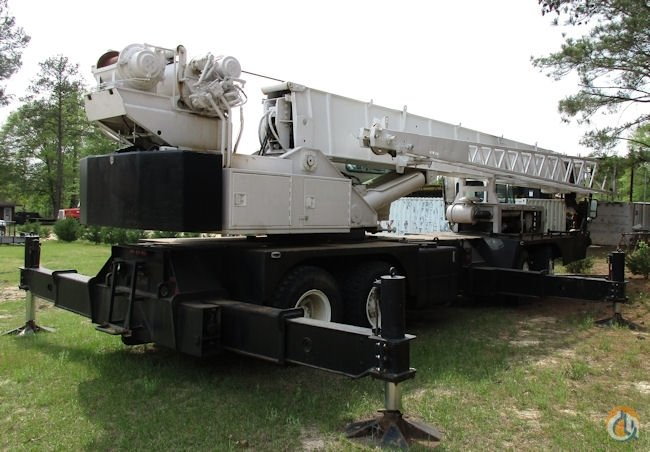 1985 Grove TMS475 50-Ton Truck Mounted Crane Crane for Sale on CraneNetwork.com