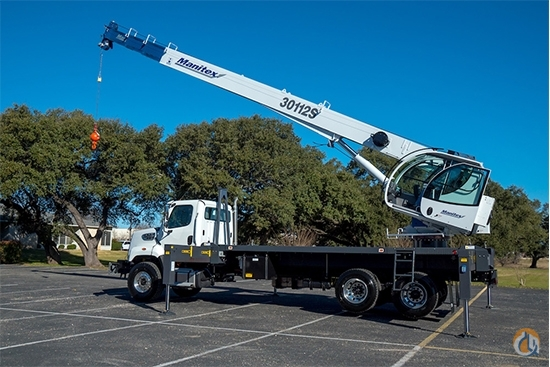 New 2019 Manitex 30112S boom truck crane mounted to Kenworth T370 chassis Crane for Sale in Houston Texas on CraneNetwork.com
