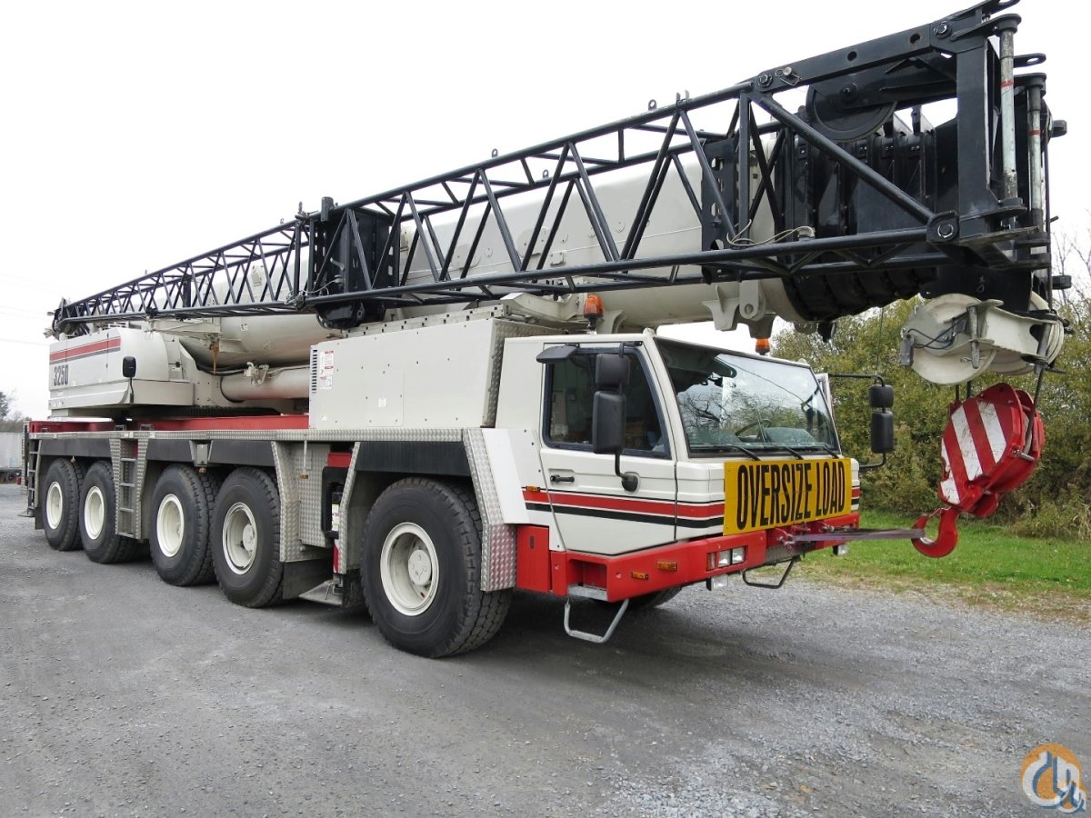 2009 TADANO ATF 220-G5 LINK BELT ATC-3250 Crane for Sale or Rent in Baltimore Maryland on CraneNetworkcom