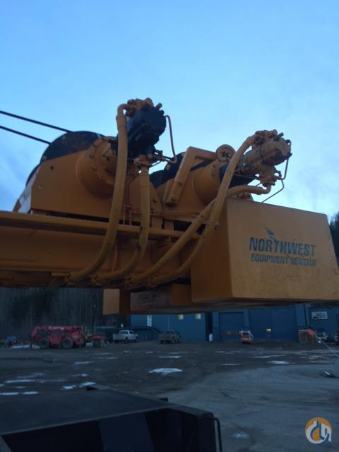 Sold 1988 LinkBelt  HTC840 Crane for  in Prince George British Columbia on CraneNetwork.com